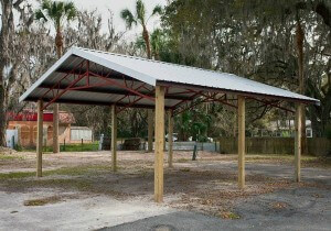 Sheds, Carports, and Pole Barns in North FL